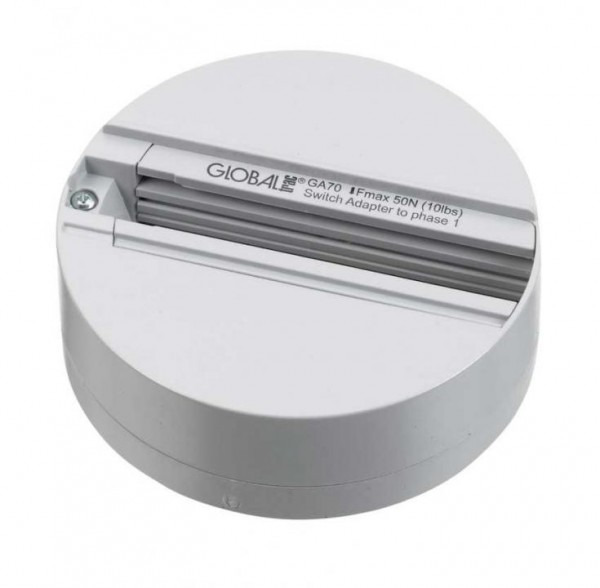 Steckdose für 3-Phasen Adapter, grau