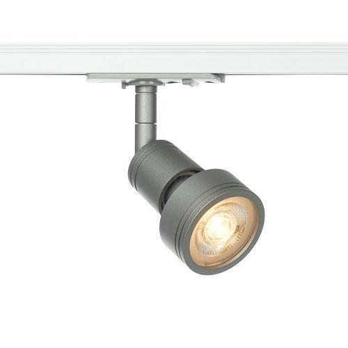 Common Leuchtenkopf schwarz, GU10, max. 50W, inkl. 1P.-Adapter
