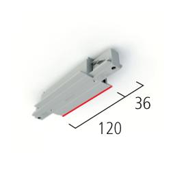 Eutrac I-Verbinder für 3-Phasen Einbau