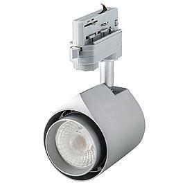 Colourdrop 15W LED 3-Phasen, silber