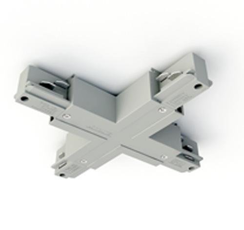 Eutrac 3-Phasen Aufbauschiene X-Verbinder, Bild 1